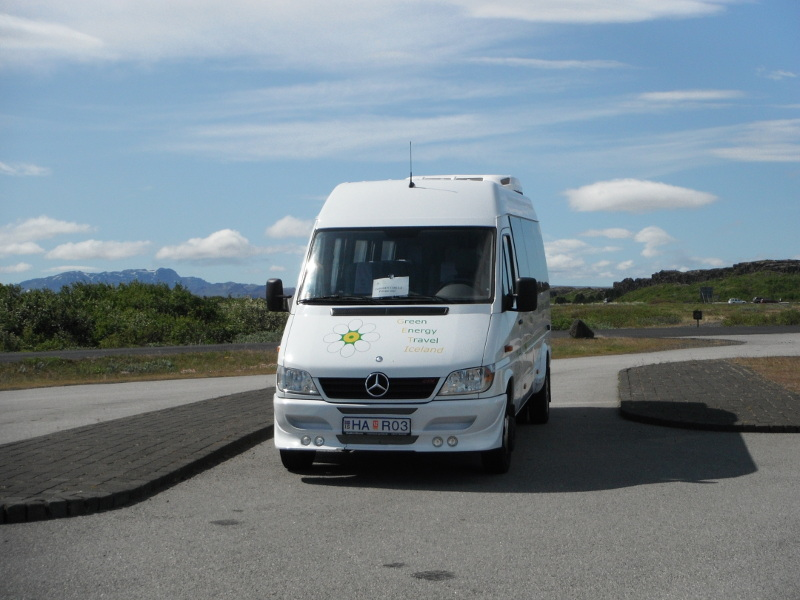 Green Energy Travel Bus Iceland