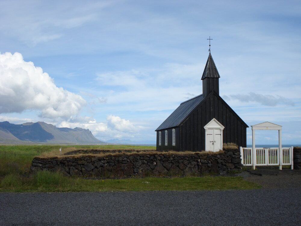 budir iceland wedding church