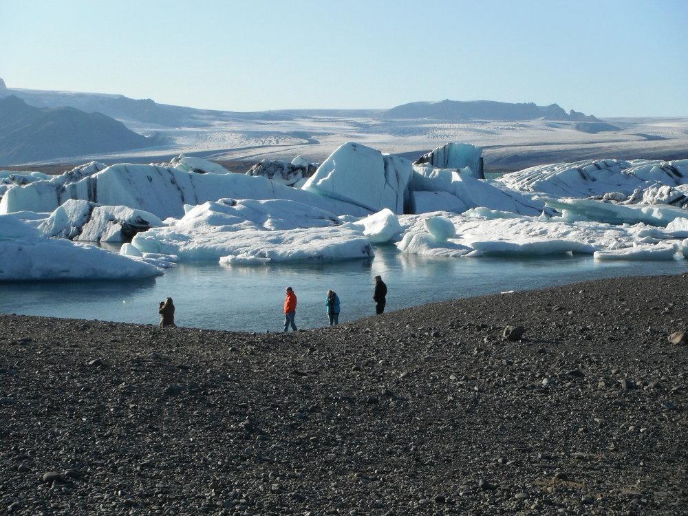 Glacial lagoon tour iceland