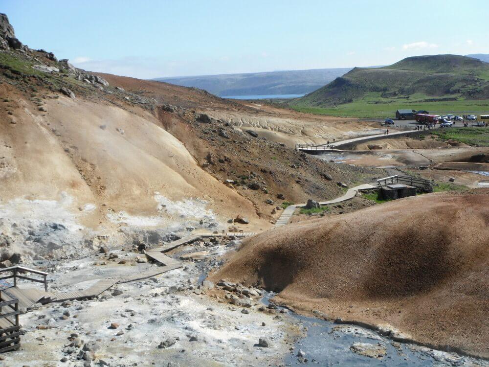 Krisuvik Iceland Geothermal Area